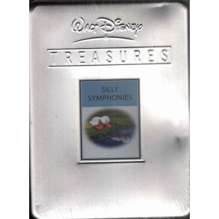 Walt Disney Treasures. Silly Symphonies DVD Box in Latta Sigillato 8007038001438