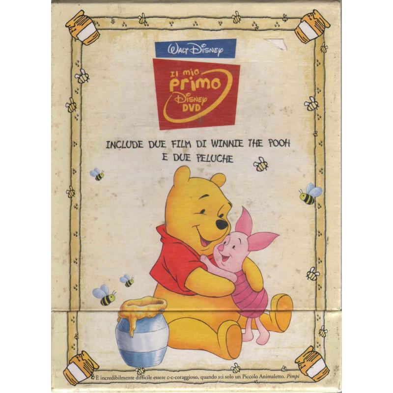 Winnie The Pooh - Il Mio Primo Dvd Box 2 Dvd+2 Peluche Sigillato 8717418185435