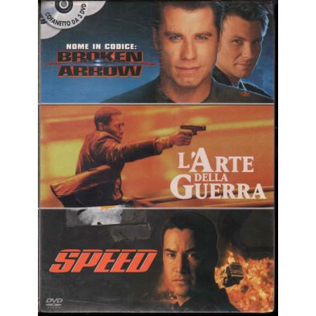 Action / Broken Arrow / L'Arte Della Guerra / Speed DVD Sigillato 8010312056352