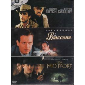 Butch Cassidy / Lo Spaccone / Era Mio Padre DVD Paul Newman Sigillato 8010312056543