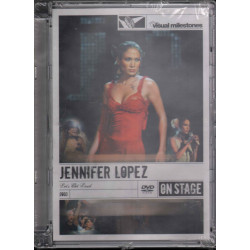 Jennifer Lopez ‎DVD Let's Get Loud Sigillato 0886972780290