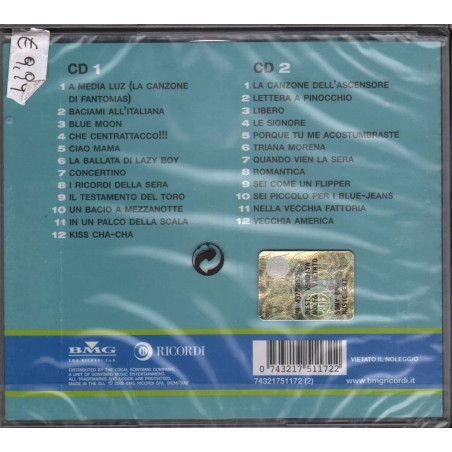 Quartetto Cetra 2 CD I Grandi Successi Flashback Sigillato 0743217511722
