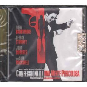 AA.VV. CD Confessioni Di Una Mente Pericolosa OST Sigillato 8012855388129