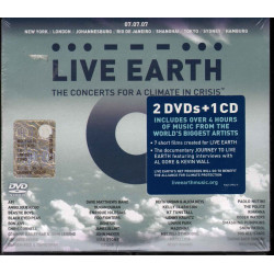 Live Earth The Concerts For A Climate In Crisis 2 DVD CD Sigillato 0093624994299
