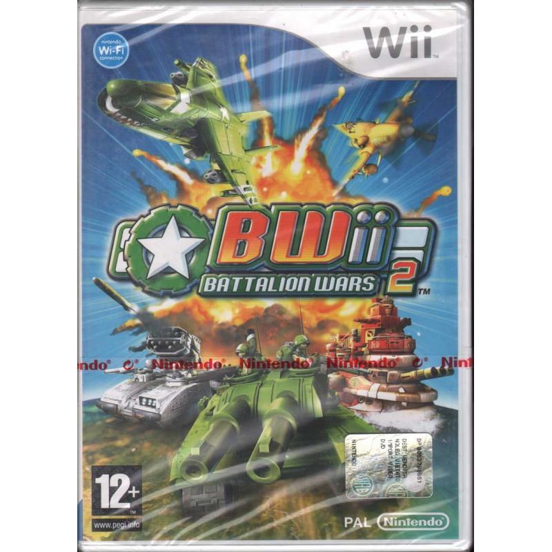 Battalion Wars 2 WII Nuovo Sigillato 0045496364076