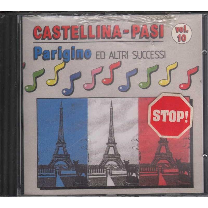 Castellina Pasi CD Parigino Vol.10 Sigillato RARO 0743211301824