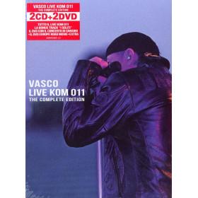 Vasco Rossi Box 2 CD 2 DVD Live Kom 011 The Complete Edition / EMI Sigillato