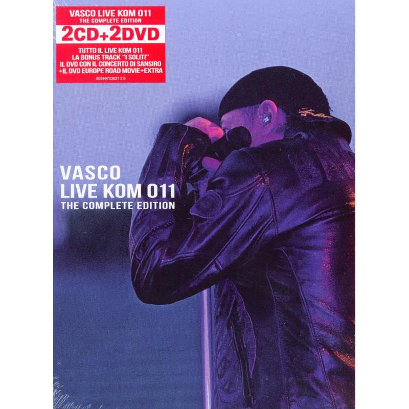 Vasco Rossi 2 CD 2 DVD Live Kom 011 Complete Edition Sigillato 5099972362129