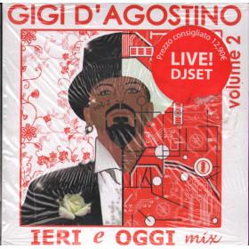 Gigi D'Agostino CD Ieri E Oggi Mix Vol 2 / Media Records Sigillato 8019256011052