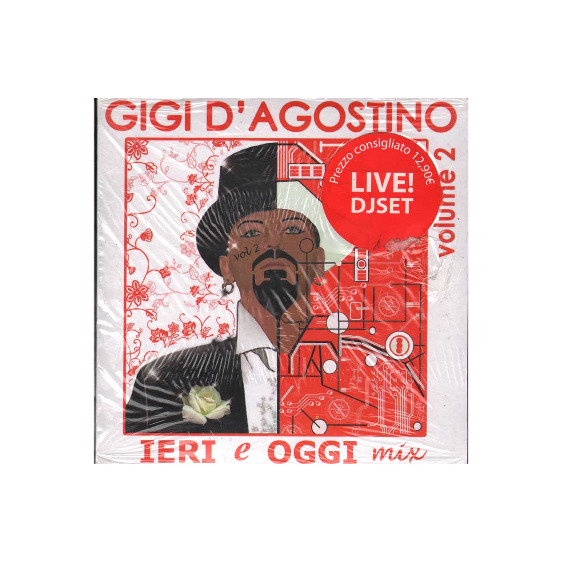 Gigi D'Agostino CD Digipack Ieri E Oggi Mix, Vol 2 Nuovo Sigillato 8019256011052