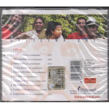 Officina Zoe CD Crita Nuovo Sigillato 8022539550551