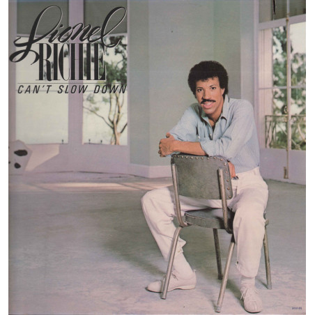 Lionel Richie Lp 33giri Can't Slow Down Nuovo 0035627202018