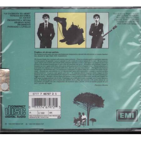 Franco Battiato CD Patriots / EMI Nuovo Sigillato 0077774679725