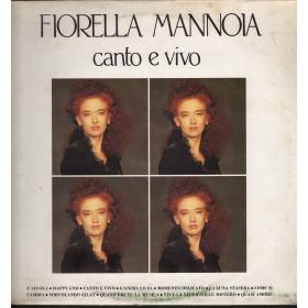 Fiorella Mannoia Lp Vinile Canto E Vivo / Ricordi ORL 9056 Nuovo 0009056