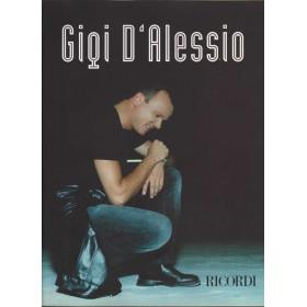 Gigi D'Alessio SPARTITO Testi e Accordi per Pianoforte Nuovo 790215106611