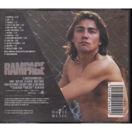 Ennio Morricone - - CD Rampage Nuovo 5012981249120