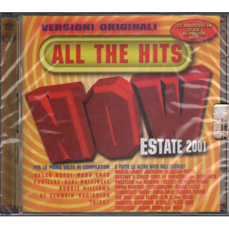 AA.VV. 2 CD All The Hits Now Estate 2001 / EMI Sigillato 0724353483029