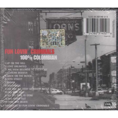 Fun Lovin' Criminals CD 100% Colombian Nuovo Sigillato 0724382314028