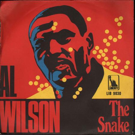 "Al Wilson Vinile 7"" 45 giri The Snake / Getting Ready For Tomorrow Nuovo Liberty"