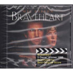 James Horner CD Braveheart OST Sigillato 0028944829525