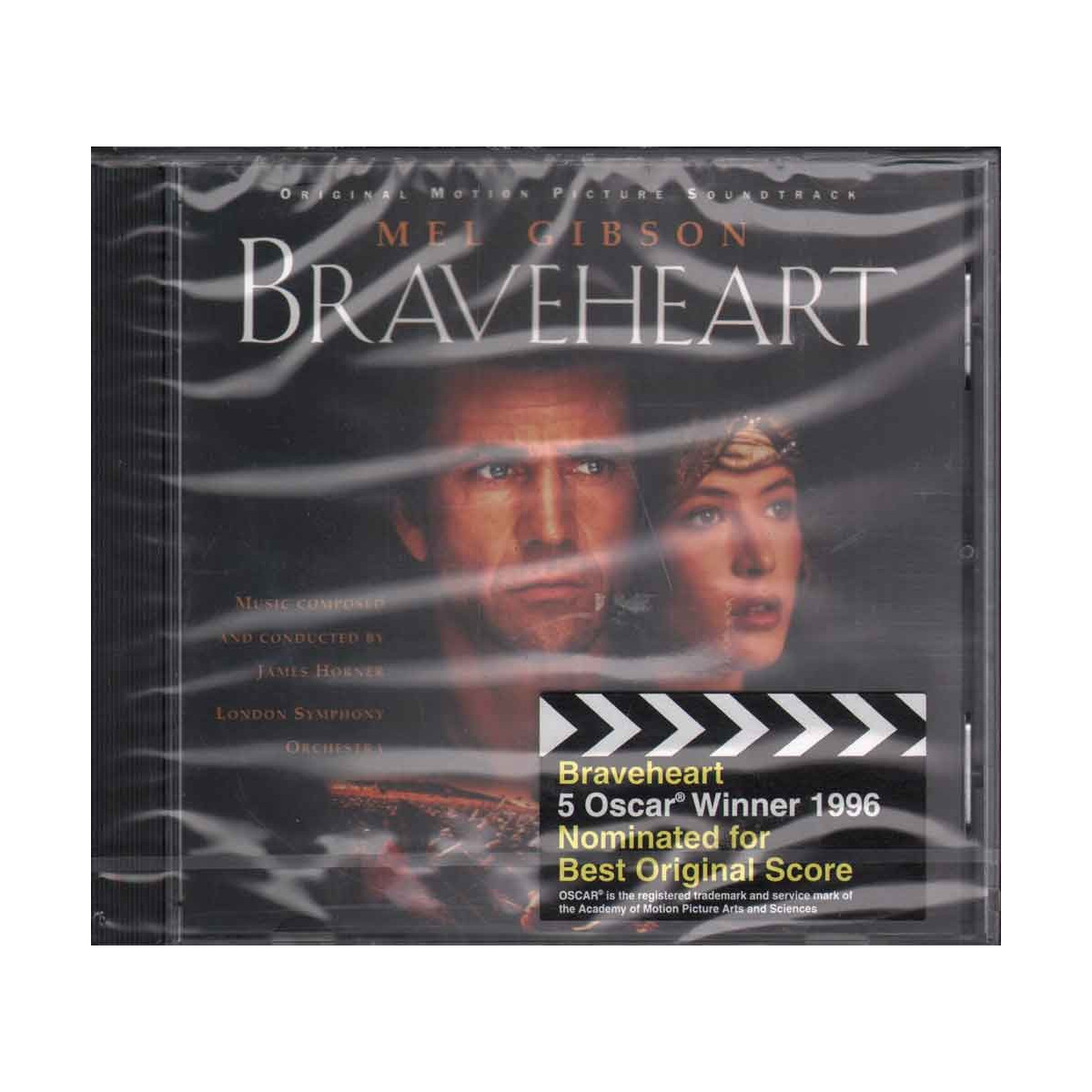 James Horner CD Braveheart OST Sigillato 0028944829525