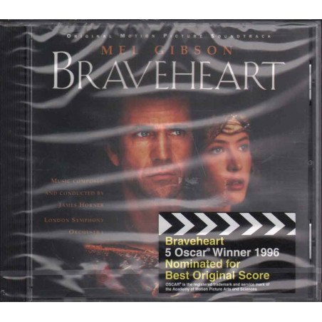 James Horner CD Braveheart OST Soundtrack / Decca Sigillato 0028944829525