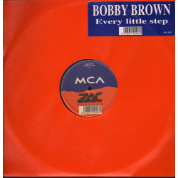 "Bobby Brown ‎Vinile 12"" Every Little Step / ZAC Records Nuovo 8018951004079"