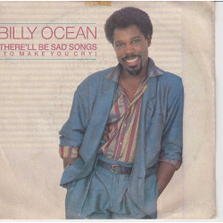 "Billy Ocean 45giri 7"" There'll Be Sad Songs (To Make You Cry) Nuovo JIVE 5010"