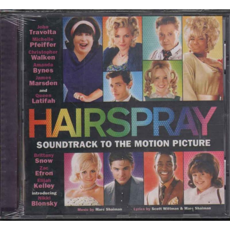 AA.VV. CD Hairspray OST Soundtrack Sigillato 0028947593485