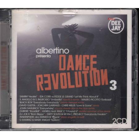AA.VV. 2 CD Albertino Presenta Dance Revolution 3 Sigillato 8019991006078