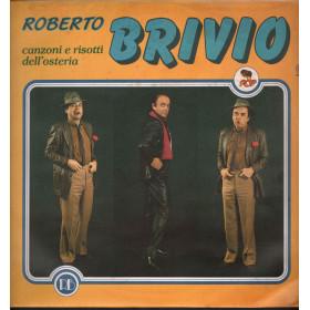 Roberto Brivio Lp 33giri Canzoni E Risotti Dell'Osteria Nuovo Sigillato 000337