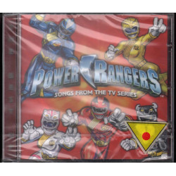 Power Rangers CD Songs From The TV Series OST Soundtrack Sigillato 0094635628128