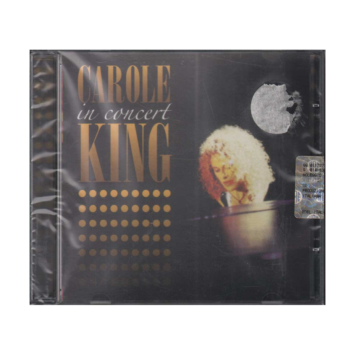 Carole King CD In Concert Nuovo Sigillato 4029758676622