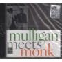 Thelonious Monk Gerry Mulligan CD Mulligan Meets Monk 0090204065219