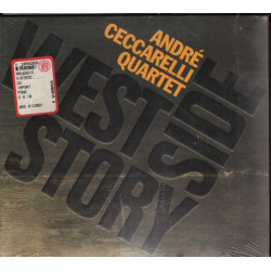 Andre' Quartet Ceccarelli CD West Side Story / BMG Sigillato 0743215186823