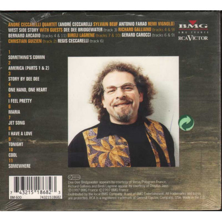 Andre' Quartet Ceccarelli CD West Side Story / BMG 0743215186823