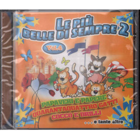 AA.VV. CD Le Piu' Belle Di Sempre 2 Sigillato 8028980311727