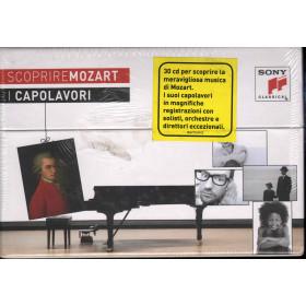 W. A. Mozart Box 30 CD Scoprire Mozart I Capolavori Sigillato 0886979347625