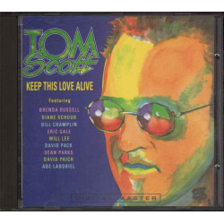 Tom Scott CD Keep This Love Alive / GRP 9646-2 Nuovo 0011105964623