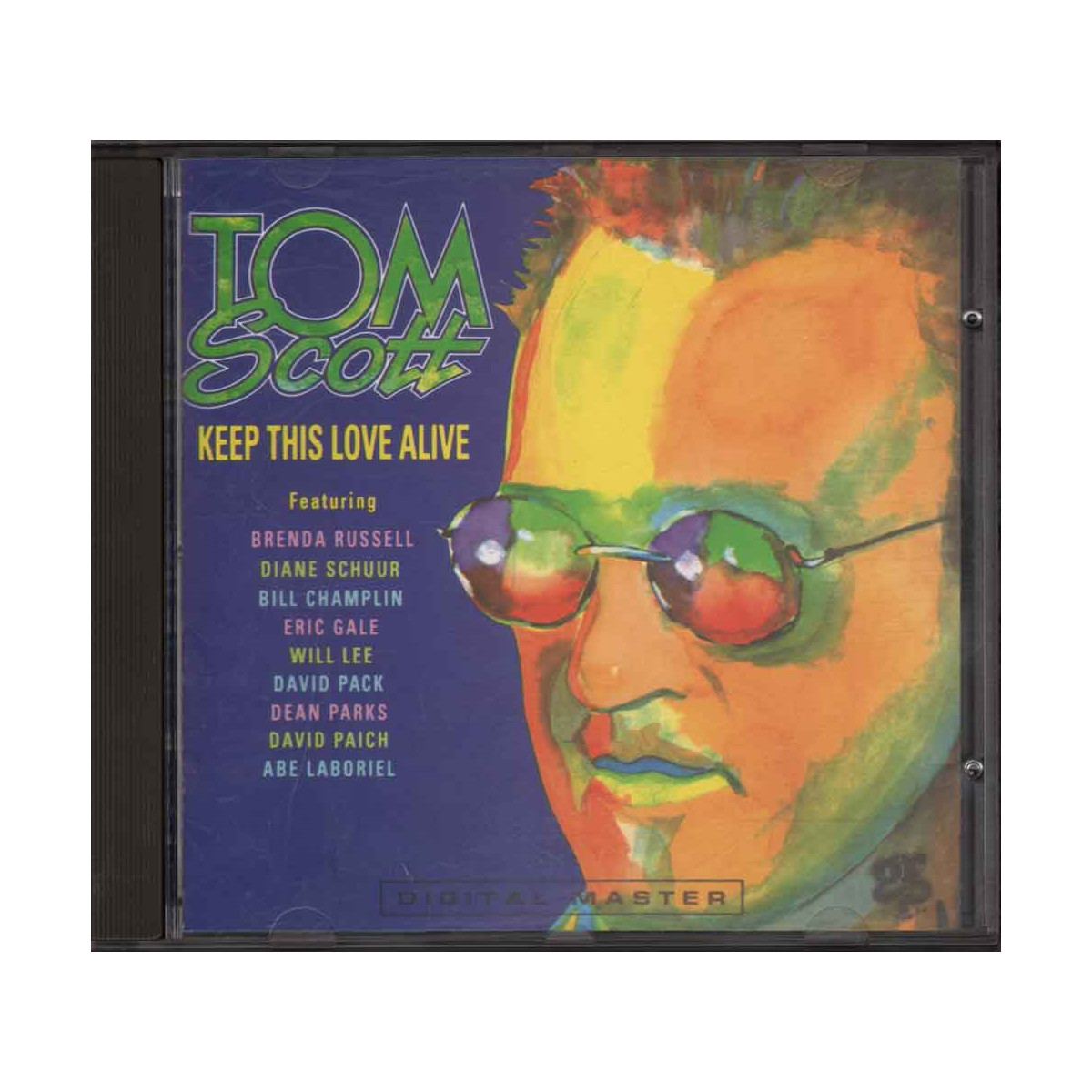 Tom Scott CD Keep This Love Alive Nuovo 0011105964623