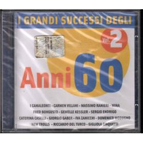 AA.VV. CD I Grandi Successi Degli Anni 60 Vol. 2 Sigillato 5050467648227