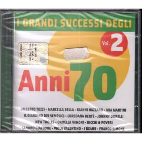 AA.VV. CD I Grandi Successi Degli Anni 70 Vol. 2 Sigillato 5050467648425