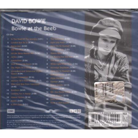 David Bowie CD DOPPIO  Bowie At The Beeb Nuovo Sigillato 0724352862924