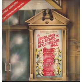 AA.VV. 2 Lp Vinile The Birdland All-Stars Live At Carnegie Hall Nuovo Roulette RAD 15019/20