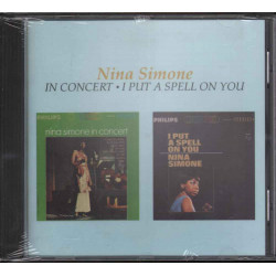 "Nina Simone -"" In Concert / I Put A Spell On You Nuovo Sigillato 0042284654326"