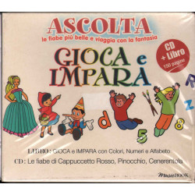 AA.VV. CD Libro Ascolta, Gioca, Impara Sigillato 8028980334726