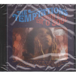 The Temptations CD With A Lot O' Soul / Motown Sigillato 0731453093225