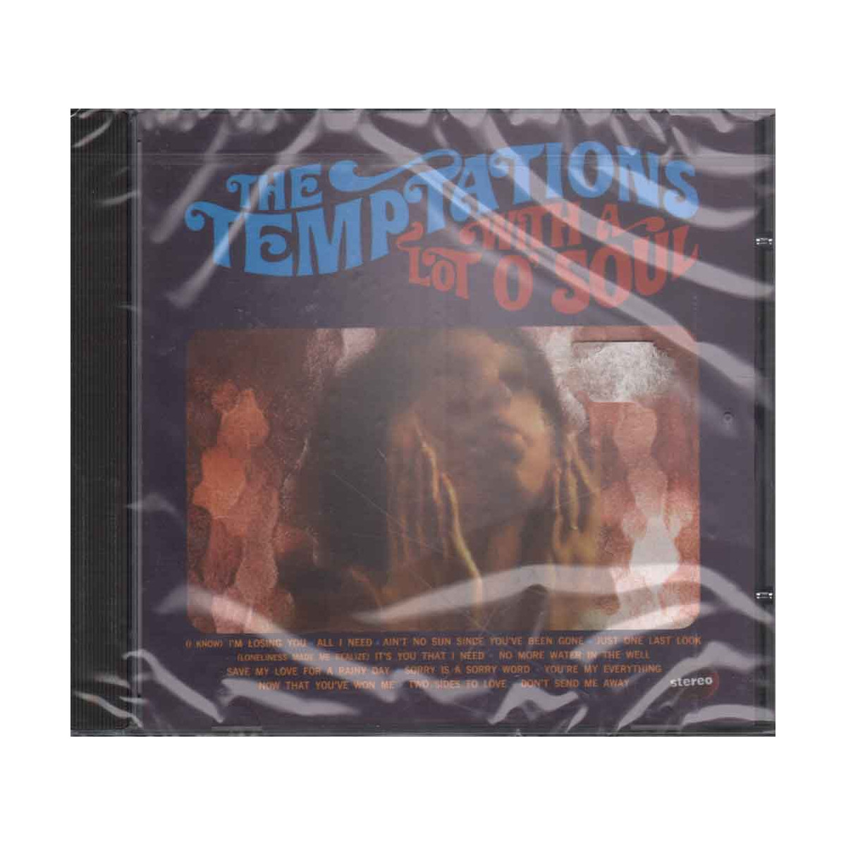 The Temptations  CD With A Lot O' Soul Nuovo Sigillato 0731453093225