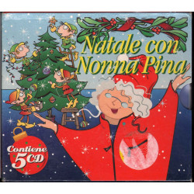 AA.VV. Box 5 CD Natale Con Nonna Pina Sigillato 4029758945629