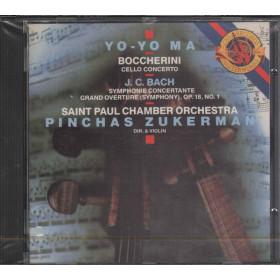 Boccherini / J.C. Bach / Yo-Yo Ma CD Cello Concerto / CBS Masterworks MK 39964 Sigillato
